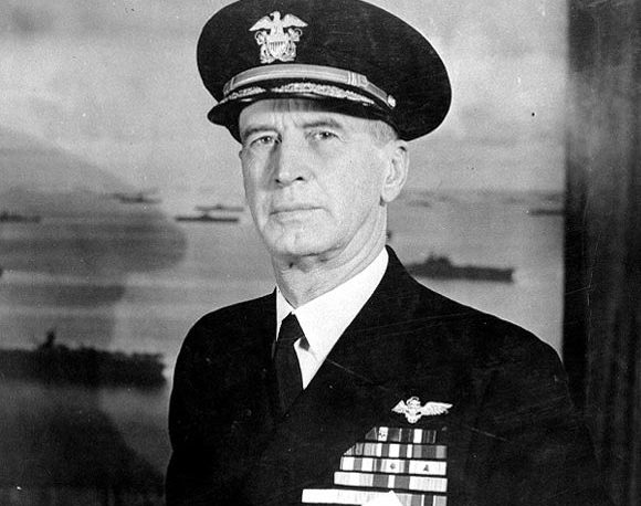 Admiral Ernest King, American Commander-in Chief in the Battle of the Atlantic