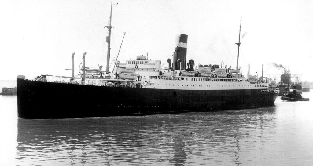 SS Athenia, the first casualty of the Battle of the Atlantic