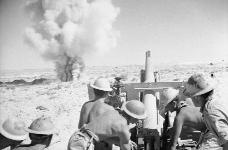 British Artillery inaction at El Alamein